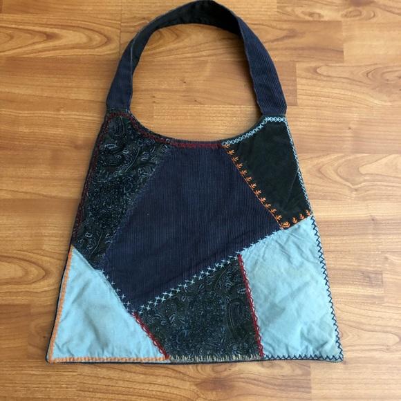 GAP Handbags - Boho patchwork shoulder bag